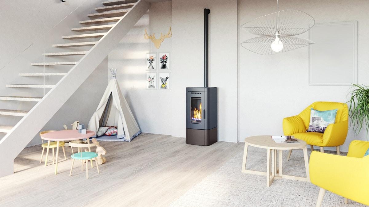 Pelletkachel Nordic Fire Vesper | Ambianza Meerkerk